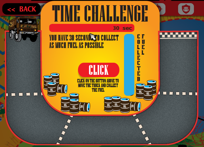 War Clicks Time Challenge
